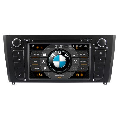 Belsee Aftermarket BMW E81 E82 E87 E88 2004-2011 1 series stereo replacement Android 9.0 Pie Auto Head Unit Car Radio Upgrade 7 inch Touch Screen GPS Navigation Multimedia Video Audio Sound DVD Player System Apple Car Play Android Auto Octa Core Ram 4GB