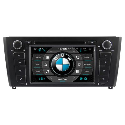 Belsee Best Aftermarket OEM BMW E81 E82 E87 E88 2004-2011 Autoradio Radio Navigation Android 8.0 Oreo Octa Core Single 1 Din PX5 Ram 4GB Rom 32GB DVD Player Stereo GPS Google Maps Play Store Wifi Bluetooth