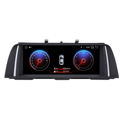 Belsee 10.25 Inch Display Large Touch Screen Upgrade Android 7.1 Nougat Head Unit Navi Autoradio for BMW 5 Series M5 F10 F11 CIC NBT iDrive GPS Navigation Multimedia System Mirroring Link Auto Stereo Video Audio Player Quad Core PX3 Ram 2GB Rom 32GB Wifi