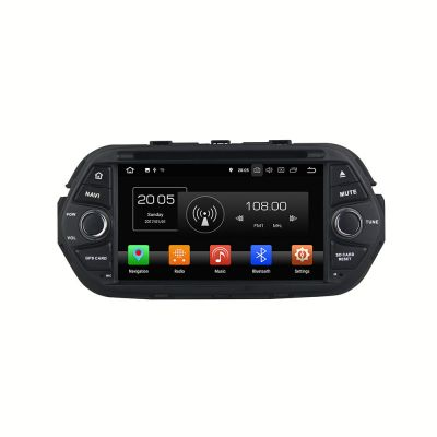 Belsee Aftermarket Android 8.0 Oreo 7 Inch Touch Screen Radio Single 1 Din Head Unit for Fiat Tipo Egea 2015 2016 2017 2018 IPS Octa Core PX5 Ram 4GB Rom 32GB Car DVD Player Audio GPS Navigation System Bluetooth Sat Nav Receiver Wifi Mirror Link Carplay