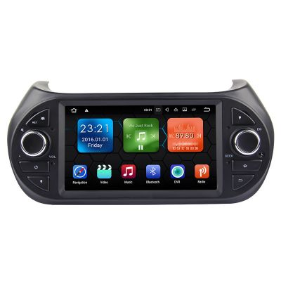 Belsee Aftermarket Fiat Fiorino Citroen Nemo Peugeot Bipper Autoradio Sat Nav Multimedia Android 8.0 Oreo PX5 Octa Core Ram 4GB 7