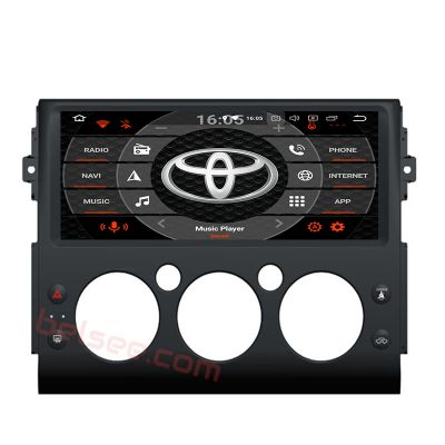 Belsee Aftermarket 10.3 inch IPS Touch Screen Android 8.0 Oreo Auto Head Unit Stereo Car Radio Audio Upgrade for Toyota FJ Cruiser 2006-2017 GPS Navigation System Multimedia Player Octa Core PX5 Ram 4GB Rom 32GB support Carplay Android Auto Bluetooth Wifi