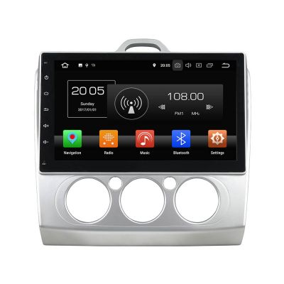 Belsee Best Aftermarket Radio Ford Focus 2 3 mk2 MT 2006-2011 Android 8.0 Oreo Head Unit Autoradio Multimedia GPS Navigation Audio System 10.1