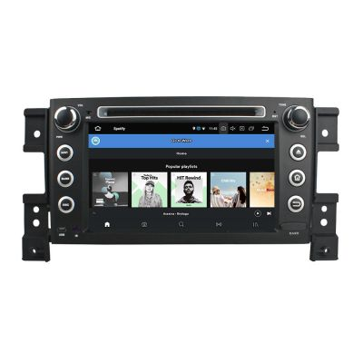 Belsee Best Android 8.0 Auto Navigation System Head Unit Stereo Upgrade for Suzuki Grand Vitara 2005-2014 In Dash Car Audio Video Media Player 4K Octa Core PX5 Double 2 Din Ram 4GB Rom 32GB Bluetooth Wifi 7