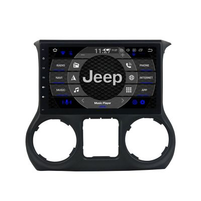 Belsee Aftermarket Car Stereo 10.1 Touch Screen Android 8.0 Oreo Head Unit Auto Radio for Jeep Wrangler JK 2011 2012 2013 2014 2015 2016 2017 2018 Car PC Tablet Audio GPS Navigation System Octa Core PX5 Ram 4GB Rom 32GB Wifi support Carplay Android Auto