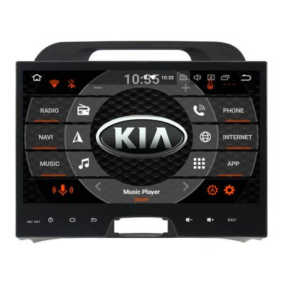 Belsee Best Aftermarket Android 8.0 Oreo Auto Head Unit Kia Sportage 2010-2015 Radio Stereo Upgrade 10.1