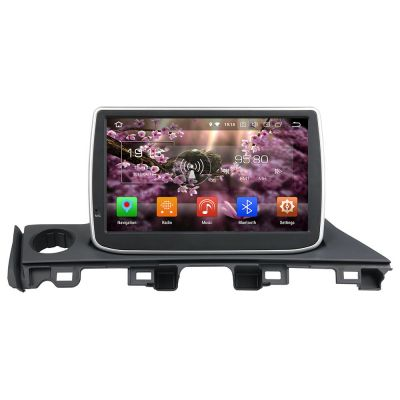 Belsee Aftermarket 9 inch Touch Screen Radio Android 8.0 Oreo Head Unit Replacement for Mazda 6 Atenza 2016 2017 Octa Core PX5 Ram 4GB Rom 32GB GPS Navigation Audio System Head Unit Stereo Video 4K Player Multimedia support Apple Carplay Android Auto