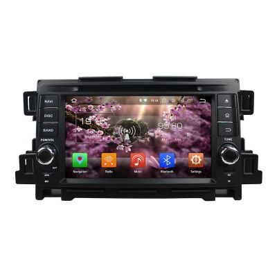 Belsee Aftermarket Android 8.0 Oreo Car Radio GPS Navigation Audio System for Mazda CX-5 2012 2013 Octa Core PX5 Ram 4GB Rom 32GB Auto Head Unit 7 inch Touch Dual Screen HD Support Steering wheel Controls Wifi Carplay Android Auto OBD2 Dab+