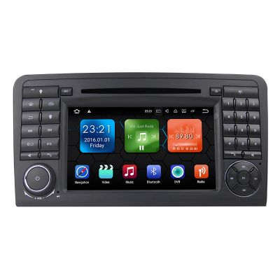 Belsee Android 8.0 Oreo Octa Core Double 2 Din Autoradio Stereo Head Unit 1024*600 Touch Screen Wifi Bluetooth DVD Player GPS Navigation System for Mercedes-Benz W164 X164