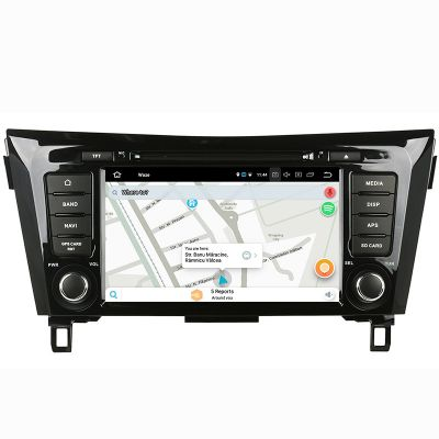 Belsee Aftermarket Android 8.0 Oreo Head Unit Autoradio Car Stereo GPS Navigation for Nissan X-Trail Qashqai Dualis Rogue 2013 2014 2015 2016 2017 8 Inch Touch Screen Audio Multimedia System Replacement Octa Core PX5 Ram 4GB Rom 32GB support Apple Carplay