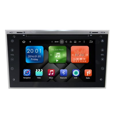 Belsee Vauxhall/Opel Autoradio Android 8.0 Oreo Double 2 din Tablet Stereo Audio Sat Nav 7