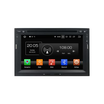 Belsee Best Aftermarket Stereo Upgrade Android 8.0 Auto Head Unit for Peugeot 3008 5008 Partner Citroen Berlingo 2010-2016 In Dash Car GPS Navigation Audio Video System Multimedia DVD CD Player 7
