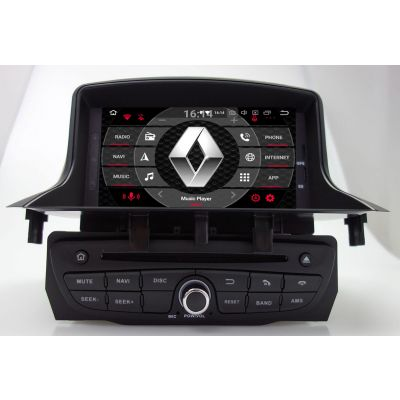 renault android car radio stereo gps navigation head unit. Black Bedroom Furniture Sets. Home Design Ideas