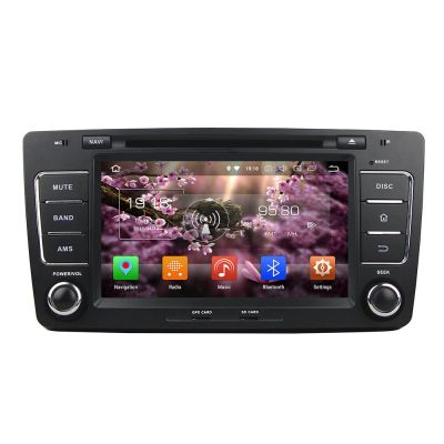 Belsee Android 8.0 Oreo Head Unit Autoradio 8 inch Touch Screen Radio Stereo 2 Din for Skoda Octavia 2007-2012 Support Android Auto Carplay