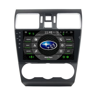 Belsee Aftermarket Android 9.0 Pie Auto Head Unit Radio Replacement Stereo upgrade for 2014 2015 2016 2017 2018 Subaru XV Crosstrek WRX STI Forester 9 inch IPS Touch Screen GPS Navigation Apple Carplay Audio System Octa Core PX5 Ram 4GB Rom 64GB Player