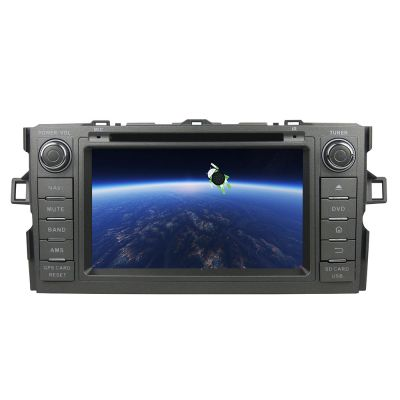 Belsee Toyota Auris 2007-2012 Aftermarket Stereo Upgrade Bluetooth Radio Android 8.0 Oreo Auto Head Unit Double 2 Din In Dash Car GPS Navigation Audio System Octa Core PX5 Ram 4GB Rom 32GB 7