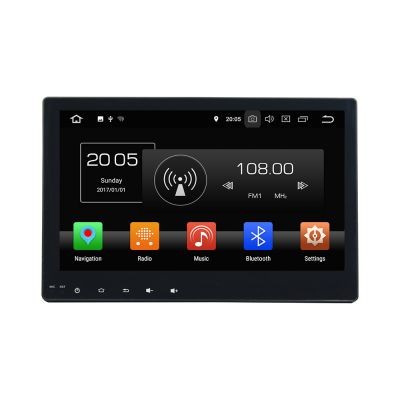 Belsee Best Aftermarket Head Unit for Toyota Hilux 2016 2017 Android 8.0 Auto Stereo Upgrade Radio Sat Nav 10.1 Inch Touch Dual IPS Screen Single 1 Din Octa Core PX5 Ram 4GB Rom 32GB GPS Navigation Audio System Multimedia 4K Video Player support Carplay