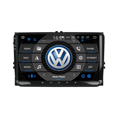Belsee Best 2019 Android 9.0 Pie Auto Radio Replacement Stereo Upgrade Parts In Dash GPS Navigation Audio System 9 inch IPS Screen Apple Carplay Android Auto 8 Core for VW MK4 MK5 Golf Passat Jetta Tiguan Amarok CC Beetle Polo Sharan Eos Caddy Seat Skoda
